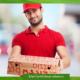Работа курьером по доставке еды